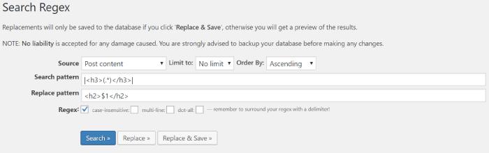 Search Regexの使い方2
